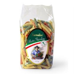 Penne Tricolore Pasta 500g | Bartolini | Buy Online | Italian Food & Ingredients | UK | Europe
